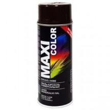 Эмаль-аэрозоль коричнево-шоколадная MAXI COLOR RAL8017 400мл