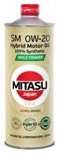 MITASU 0W-20 SM MOLY-TRiMER (MJ-M02-1) 1л.