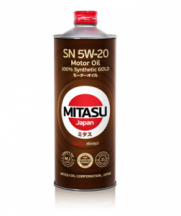 MITASU 5W-20 SN GOLD (MJ-100-1) 1л.