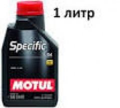 MOTUL SPECIFIC 5W-40 505.01/502.00  1л