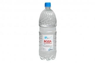 ВОДА Дистиллированная H2O 1.5л.